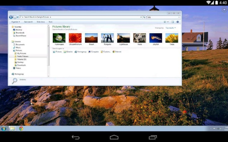 Google Chrome Remote Desktop