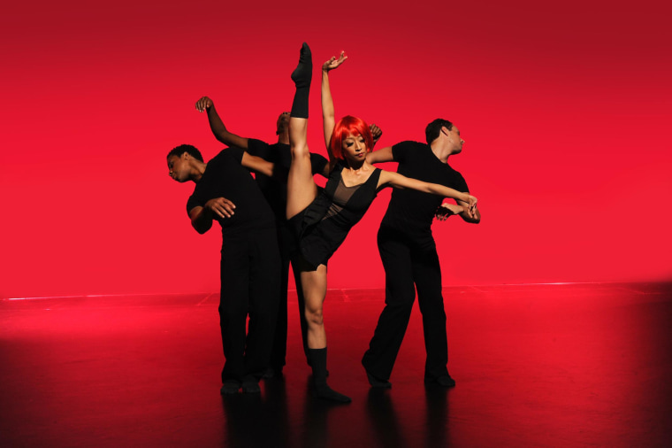 Mademoiselle, a performance by Ballet Hispanico during the company's season at the Joyce Theater in New York City, April 2014.