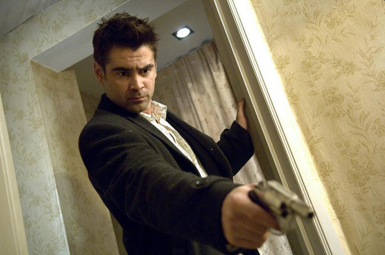 "Image: Colin Farrell in the movie ""In Bruges"""