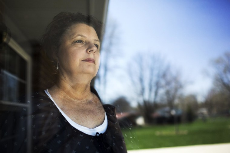 Image: Ronda Roberts, is unemployed after an abrupt end to a temporary job in 2012