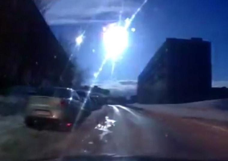 Image: Meteor flash