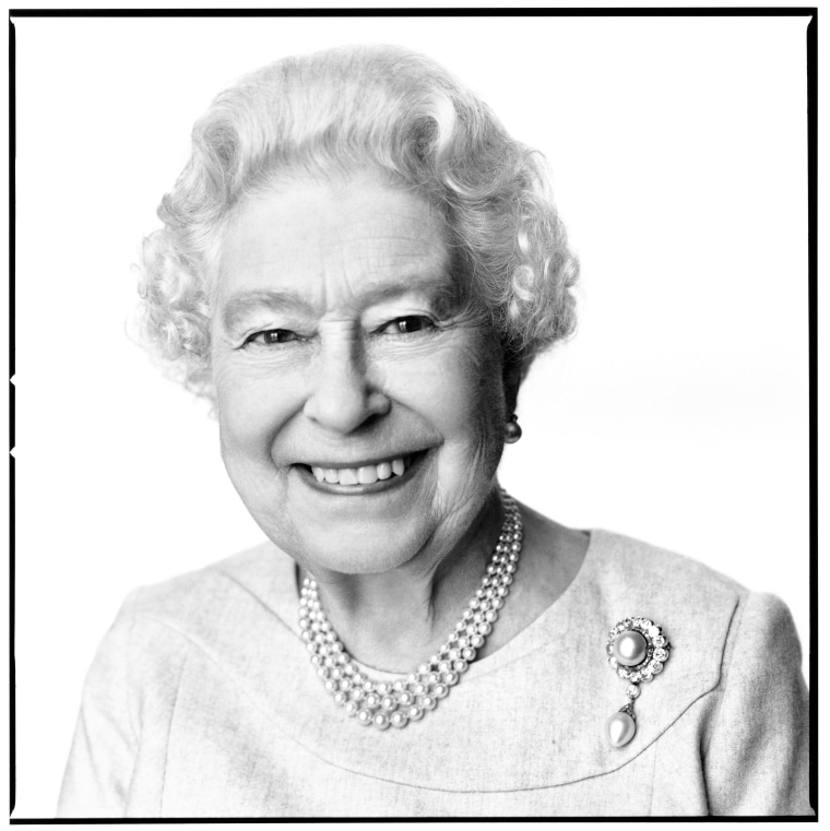 Birthday portrait of Queen Elizabeth II
