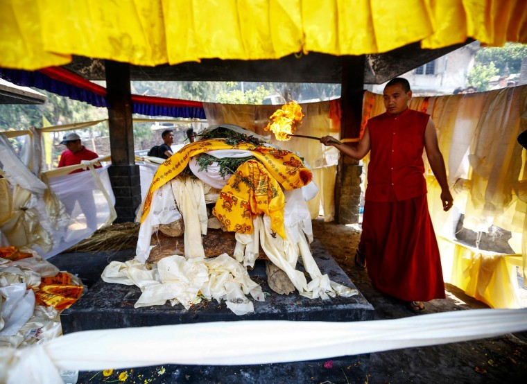 Buddhist Funerals Honor Sherpas Killed in Everest Avalanche