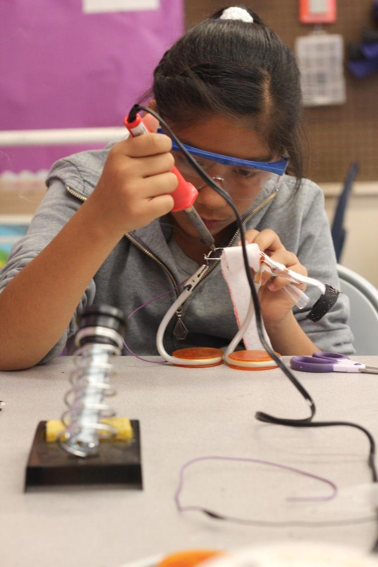 Image: DIY Girls class