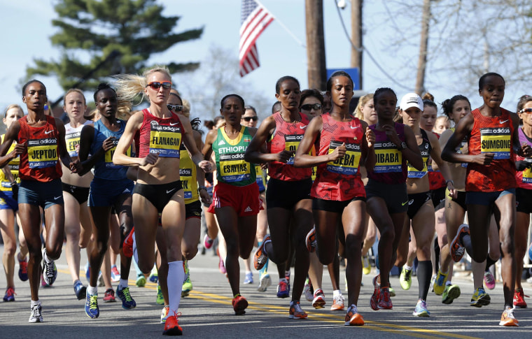 Image: 118th Boston Marathon