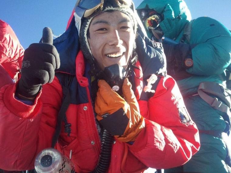 Then Dorji Sherpa, 33, died in Friday's Mt. Everest avalanche tragedy.