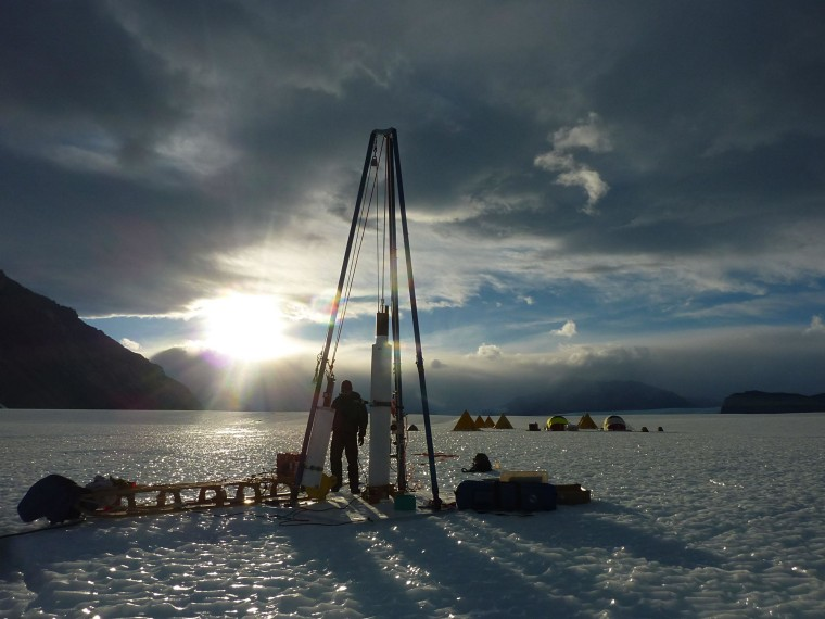 Image: Blue Ice Drill