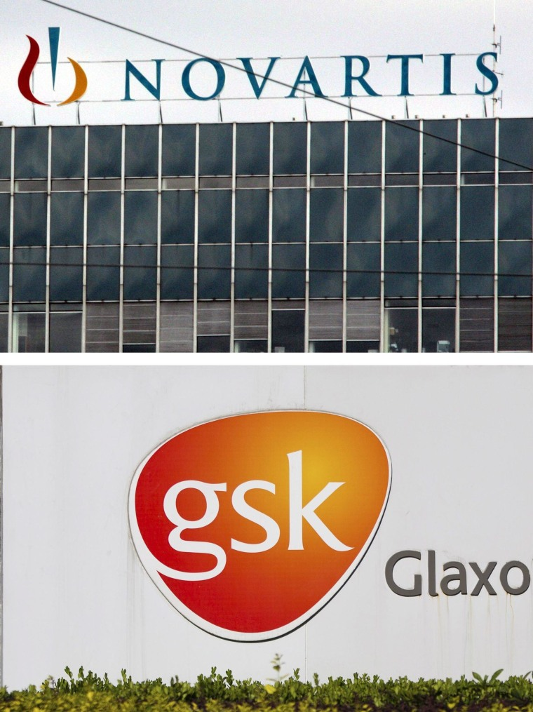 Image: Novartis and GSK deals