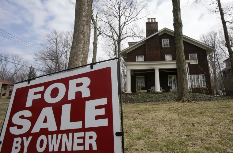 Home resales fell to their lowest level in more than 1-1/2 years in March, but there were signs a recent downward trend in the housing market may be drawing to an end.