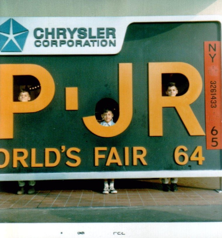 Bob Garstki's family took the family station wagon from Chicago to New York. Garstki says his father used to tell him enchanting stories about the 1933 Chicago World's Fair and couldn't wait to visit.