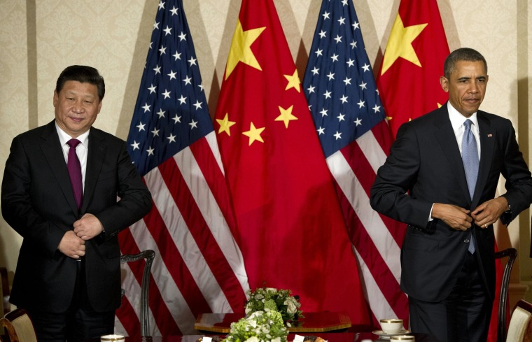 Image: President Barack Obama and Chinese President Xi Jinping