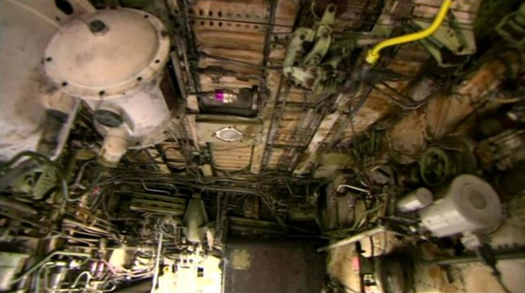 The interior of a Hawaiian Airlines plane where a teenage stowaway is thought to have clambered aboard.