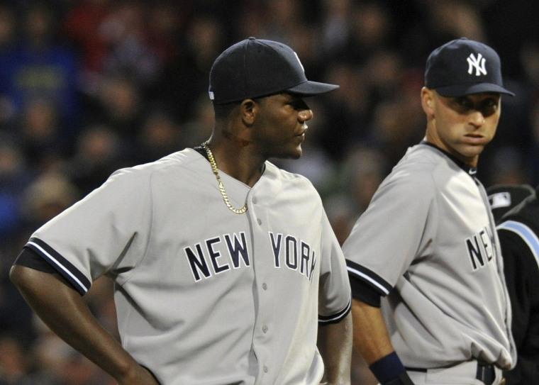 Image: MLB: New York Yankees at Boston Red Sox