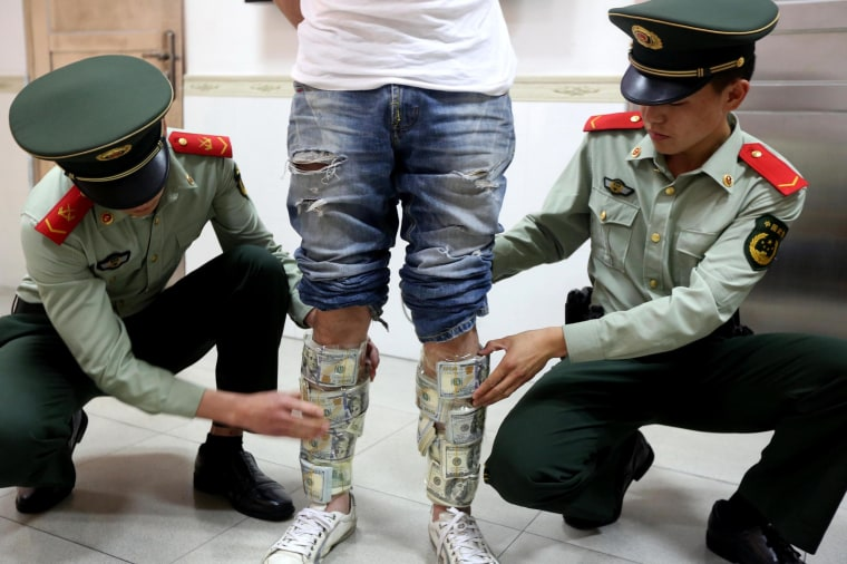'Greedy' Man Caught Crossing Chinese Border With $580K in His Pants