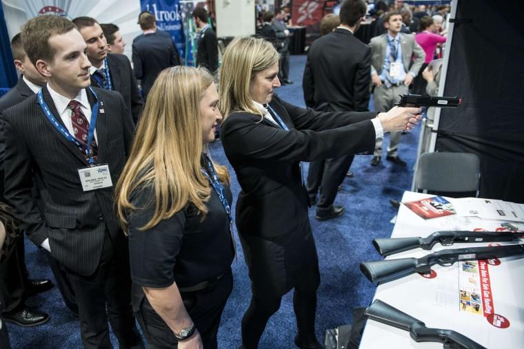 Democrats Scarce as NRA Confab Kicks Off