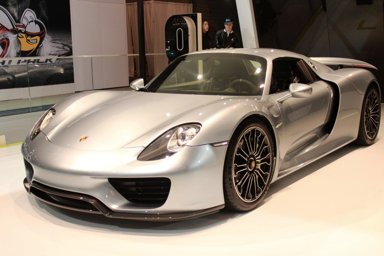 Image: The Porsche 918 Spyder