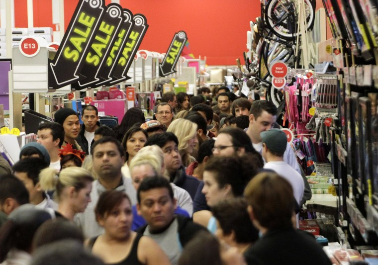 Consumers got practically giddy in April, as sentiment rose to a nine-month high, a new survey shows.