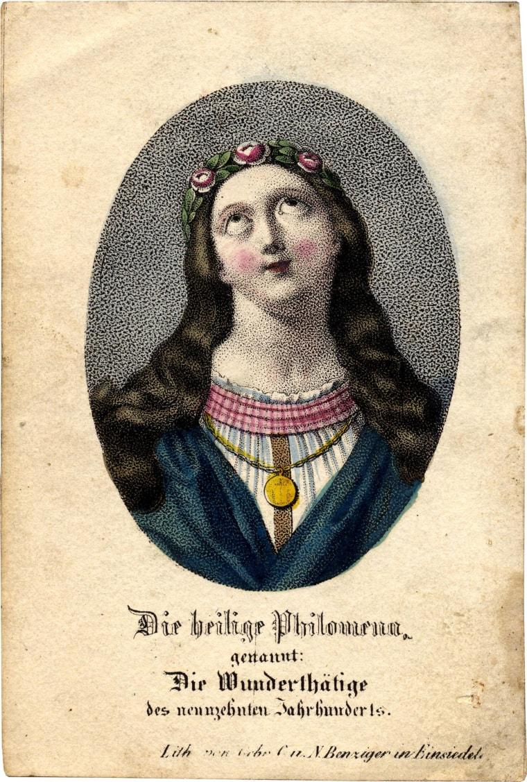 Saint Philomena was suppressed in 1960.