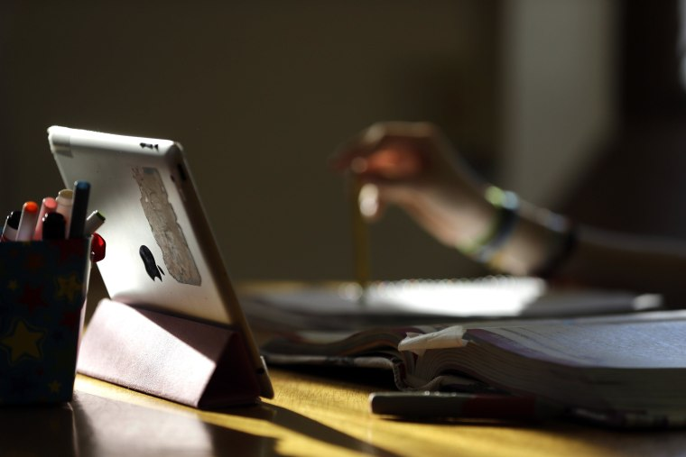 Image: Person on laptop