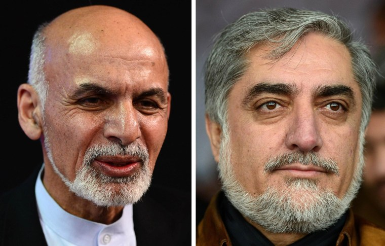 Abdullah Tops Afghan Presidential Vote's First Count, But
