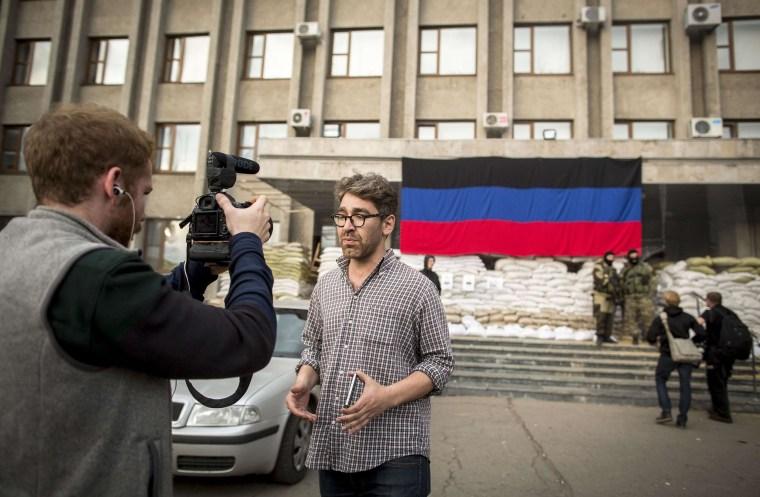 Image: U.S. journalist Simon Ostrowsky