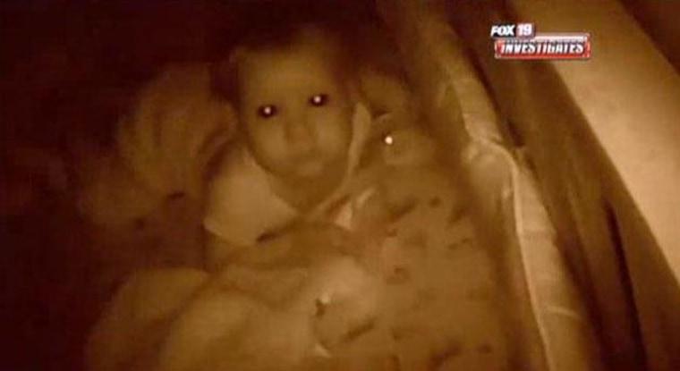 Man Hacks Monitor, Screams at Baby Girl