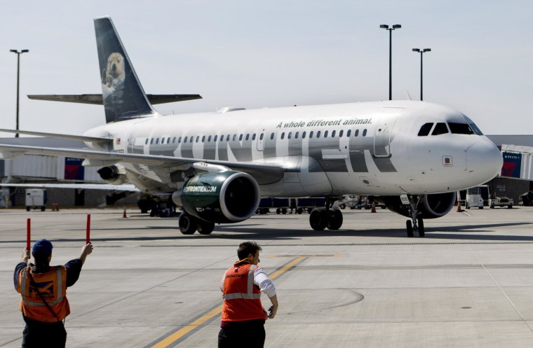 Image: Frontier Airlines plane
