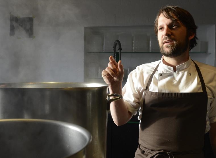 Rene Redzepi, chef and co-owner of the restaurant Noma.