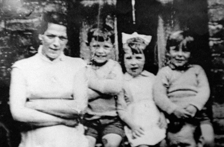 Image: Jean McConville with three of her children