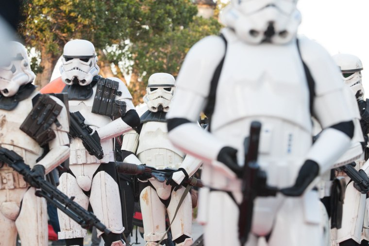 Image: stormtroopers in Tunis, Tunisia