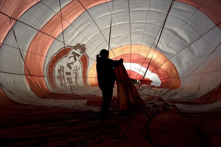 Image: The 15th International Mountain Balloon Race in Krosno