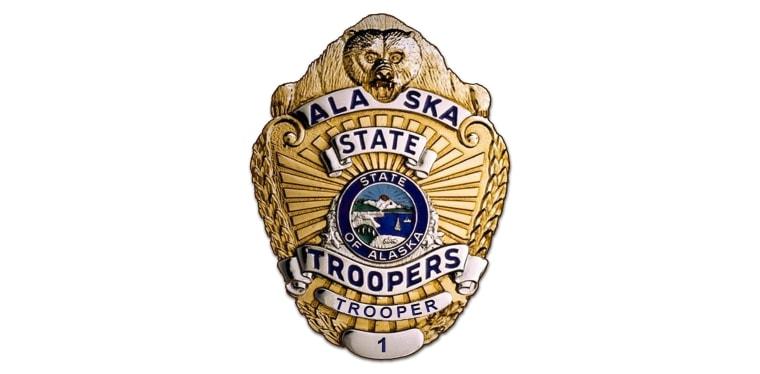 Alaska State Troopers badge.
