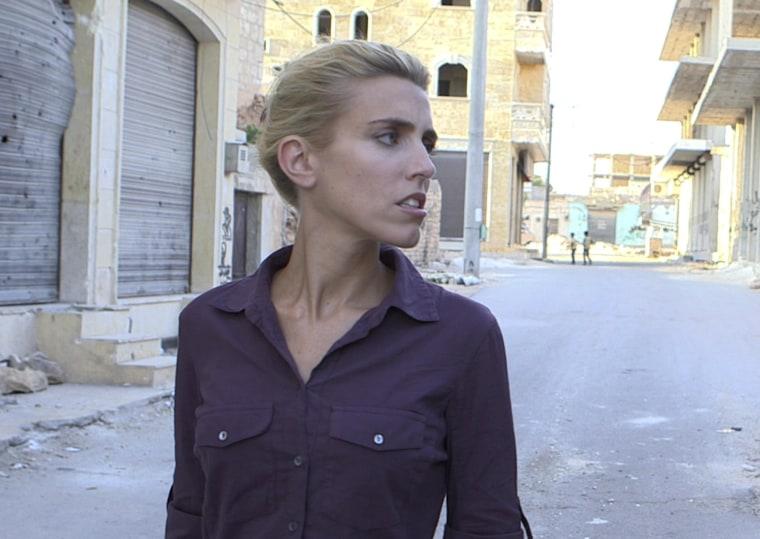 Image: CBS News Foreign Correspondent Clarissa Ward