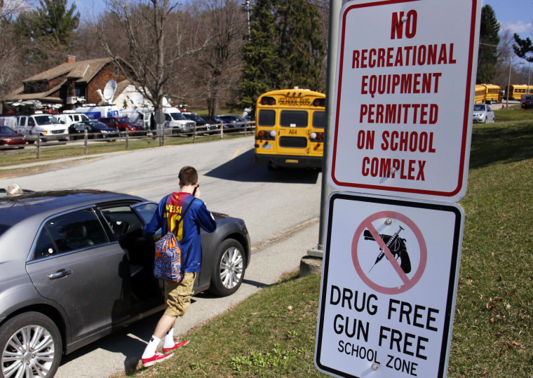 Bullied Students Sneak Thousands of Guns Into Schools