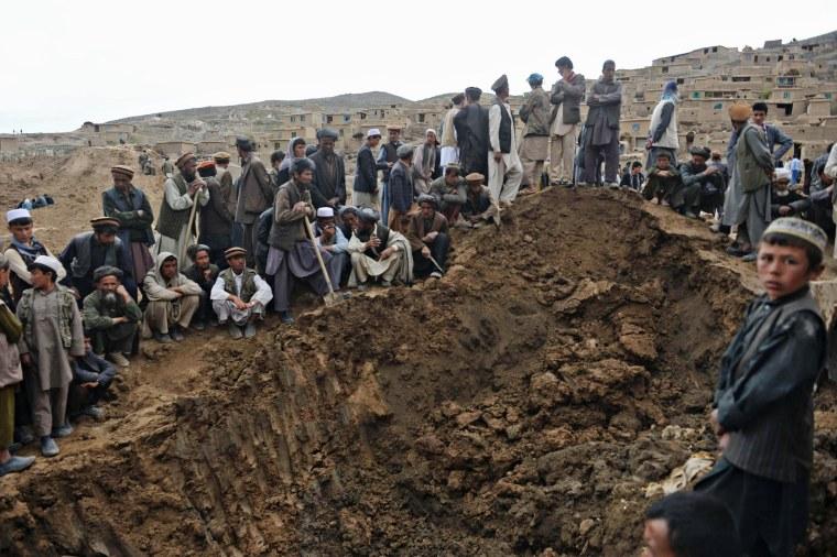 Image: AFGHANISTAN-LANDSLIDE
