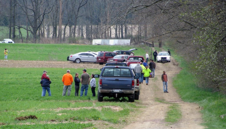 Image: State police notified the families of two adults and three children who were found dead in a cabin in rural Washington Township
