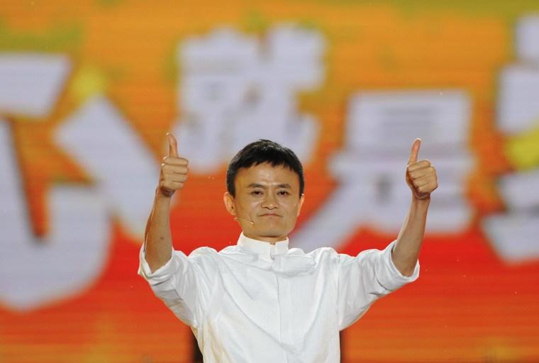 Image: Alibaba founder Jack Ma