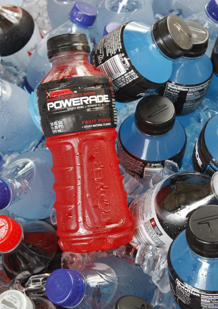 A controversial ingredient, brominated vegetable oil, is being removed from some Powerade sports drinks.