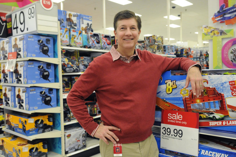 Target's CEO Gregg Steinhafel, shown here, has stepped down after a huge data breach that hit millions of customers.
