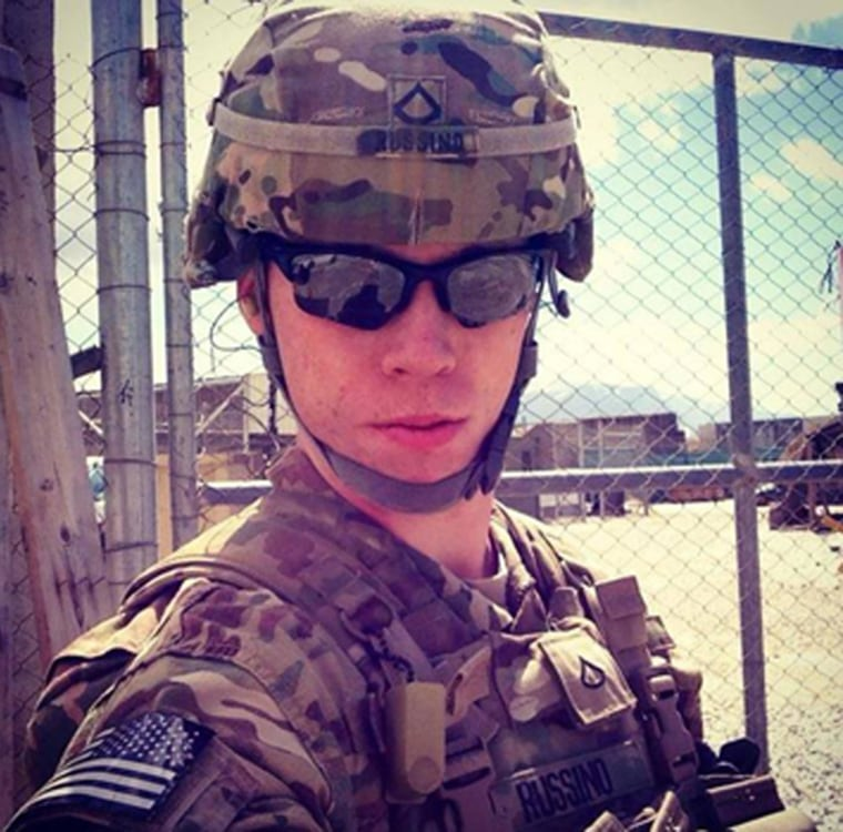 John Russino is a South Philadelphia High School graduate, now serving in Afghanistan.