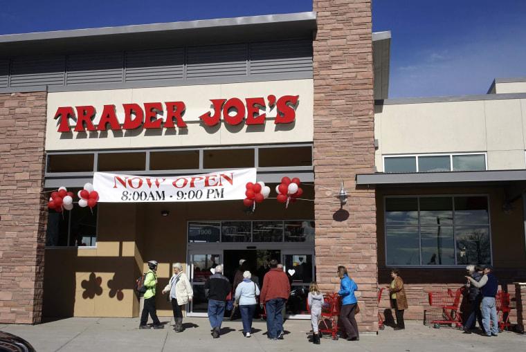 Image: A Trader Joe's store in Boulder, Colorado