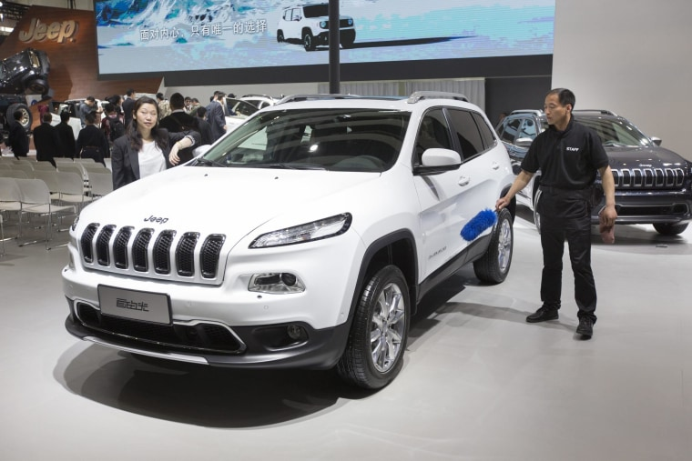 Fiat Chrysler aims to grow in large part, on the strength of the Jeep. The iconic SUV brand is ready for a global boom in sales.