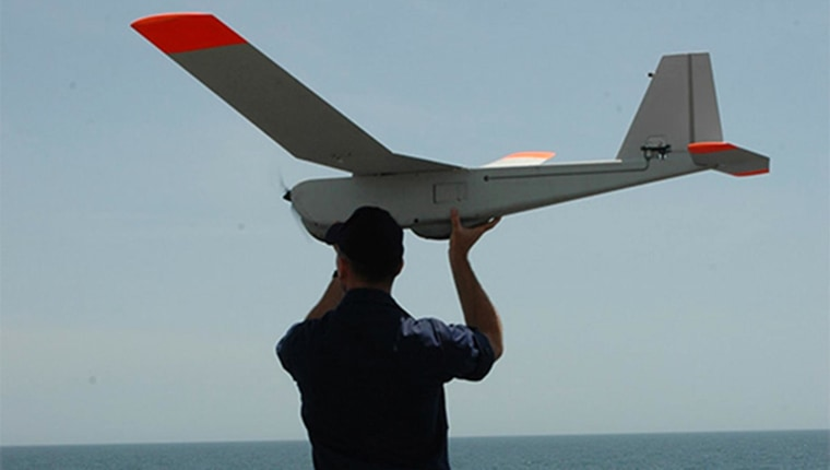 Image: A Puma Unmanned Aircraft