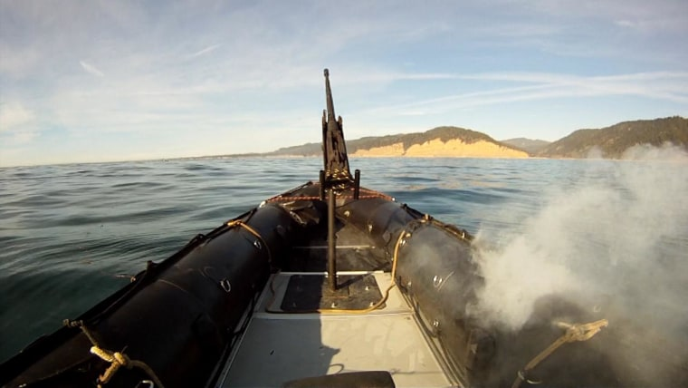 Gone in 30 Seconds: Prototype Killer Laser Takes Out Boats a