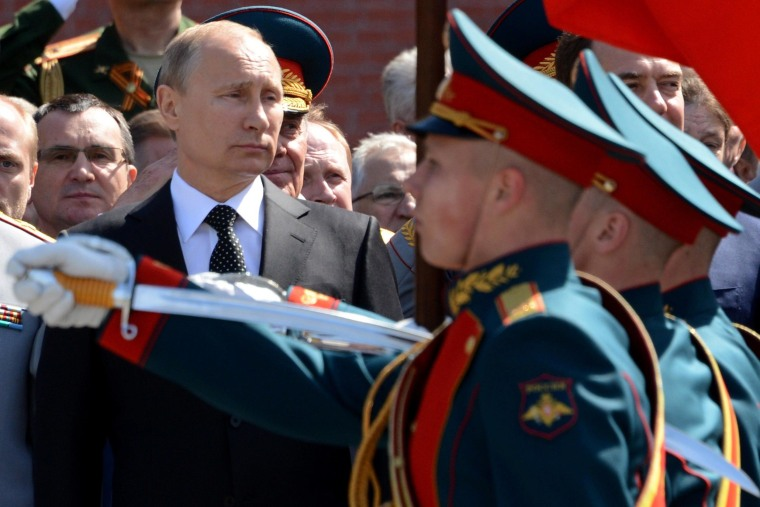 Image: RUSSIA-UKRAINE-POLITICS-HISTORY-WWII-CRISIS