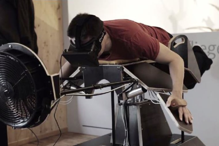 Birdly Oculus Rift
