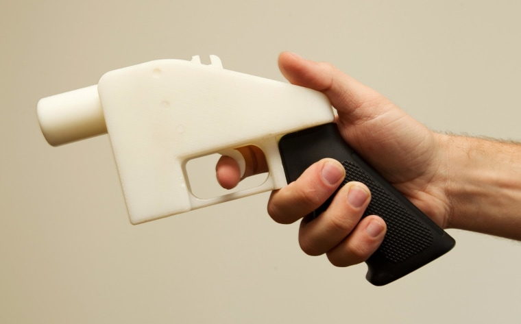 Image: The first completely 3D-printed handgun, The Liberator