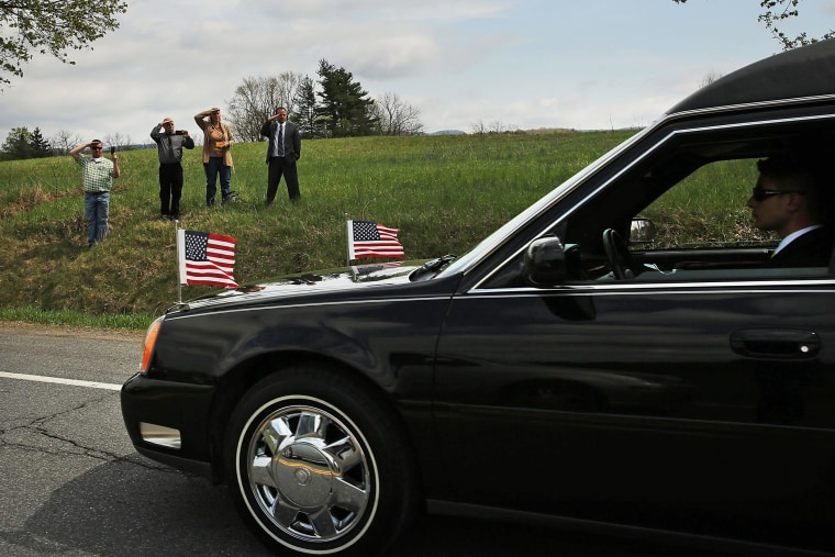 Image: Funeral Held For Army Sgt Killed In Afghanistan