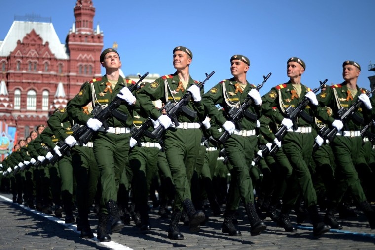 Russia's Victory Day Parade Remembers World War II Sacrifices