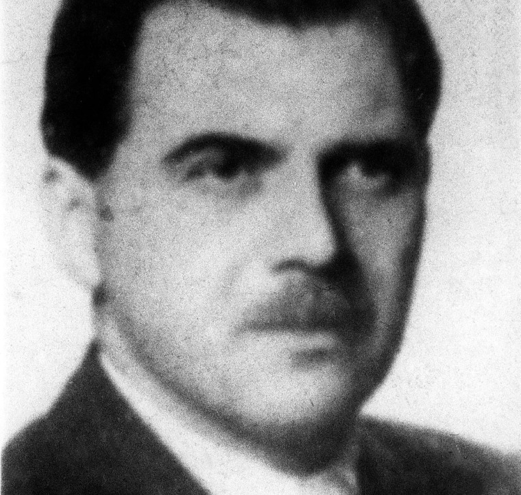 WWII war criminal Josef Mengele in 1956